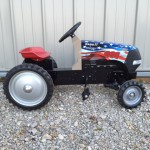 Case pedal Tractor