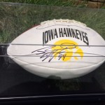 Iowa Football Autographed by Jared DeVries
