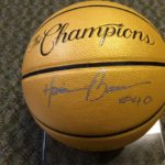 Harrison Barnes Signed Basketball