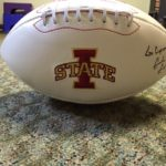 ISU Football Signed by Matt Campbell