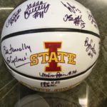 ISU Womens bball team 2015-2016 Signed ball