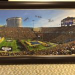 Iowa Wrestling at Kinnick Signed by Coaches Picture