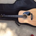 Kenny Rogers Autographed Guitar