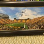 Kinnick Stadium Picture signed by Kirk Ferentz