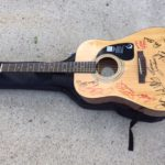 The Legends Autographed Guitar