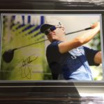 Zach Johnson Signed Print