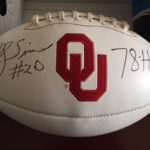 Oklahoma Football Signed by Billy Sims