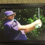 Ricky Fowler Signed Print